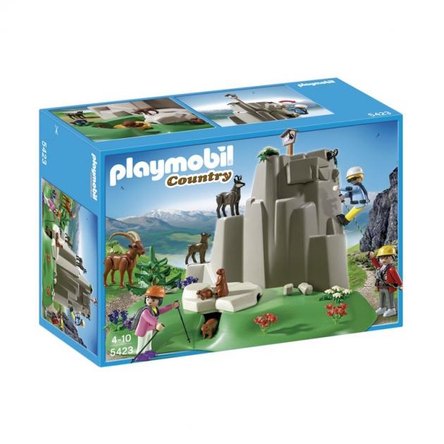Playmobil серия каникулы Скалолазы и горные животные 5423pm
