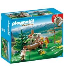 Playmobil В горах Семья альпинистов у горного ручья 5424pm...