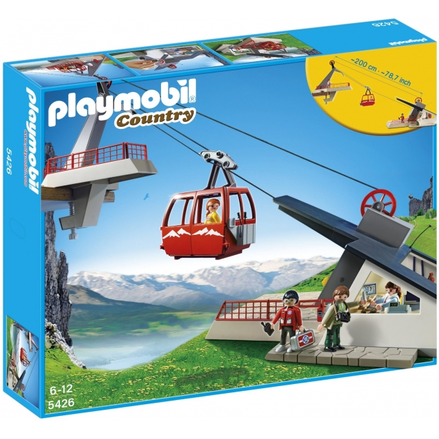 Playmobil серия горная жизнь Фуникулер 5426pm