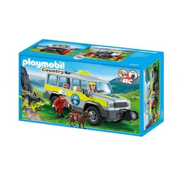 Playmobil серия горная жизнь Спасательный грузовик 5427pm