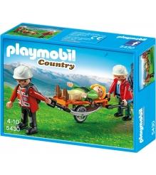 Playmobil В горах Спасатель с троссом 5430pm