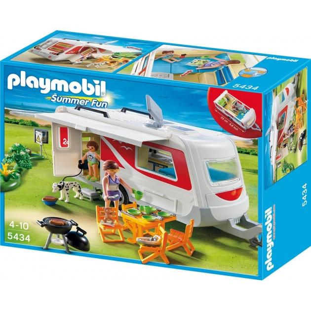 Playmobil серия каникулы Семейный автоприцеп 5434pm