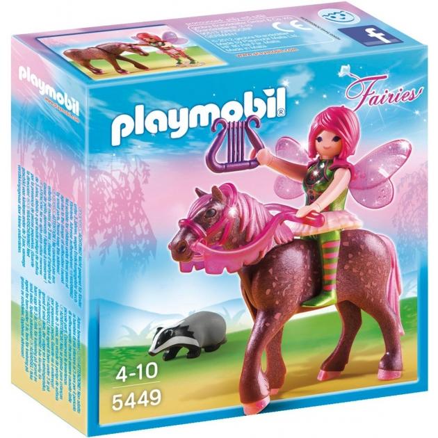 Playmobil Лесная фея Суря с лошадью 5449pm