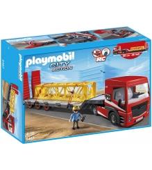 Playmobil серия стройплощадка Большой грузовик грузовая платформа 5467pm...