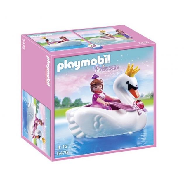 Принцесса на лодке  лебеде Playmobil 5476pm