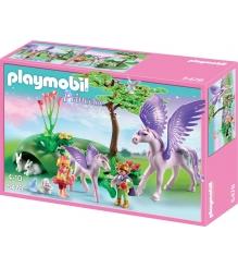 Playmobil Замок кристалла Королевские дети и маленький пегас 5478pm...
