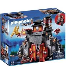 Playmobil серия азиатский дракон Восточный замок с золотым Драконом 5479pm