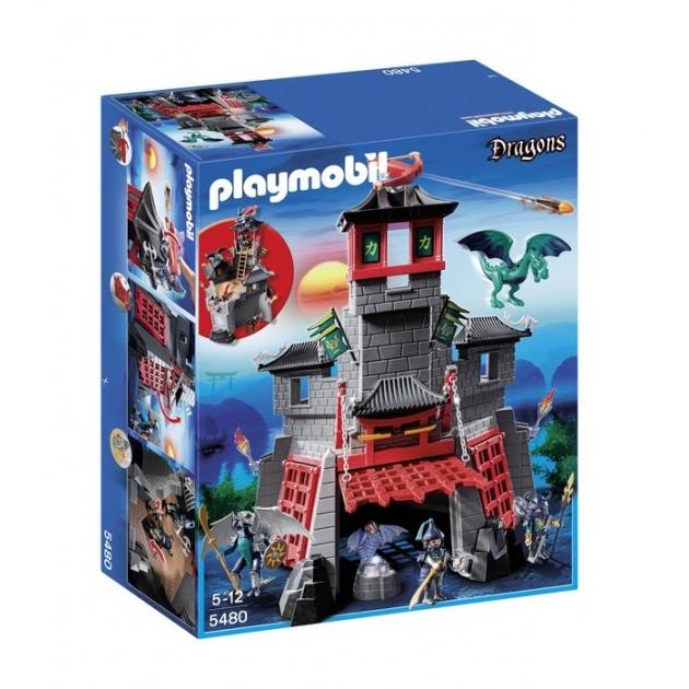 Playmobil серия азиатский дракон Секретный форт Дракона 5480pm