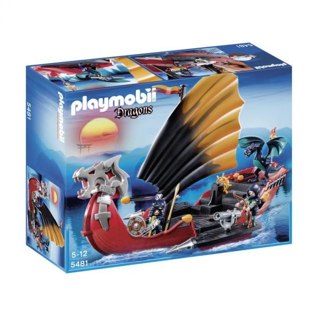 Playmobil серия азиатский дракон Корабль Дракона 5481pm