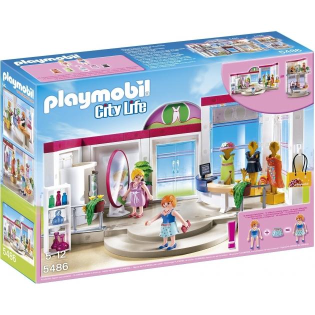Playmobil серия торговый центр Бутик с одеждой и гардеробной 5486pm