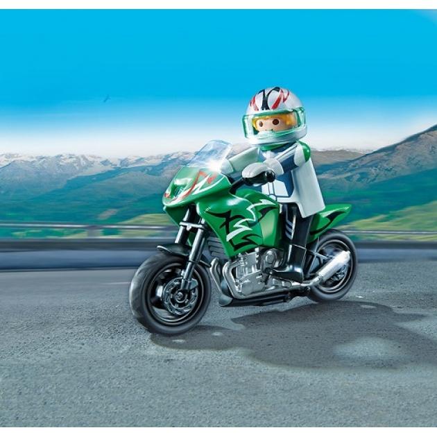 Playmobil Коллекция мотоциклов Спортивный мотоцикл 5524pm