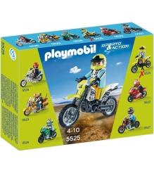 Коллекция мотоциклов Playmobil Мотокросс 5525pm