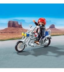 Playmobil Коллекция мотоциклов Мотоцикл орел 5526pm