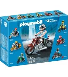 Коллекция мотоциклов Playmobil Коричневый мотоцикл 5527pm