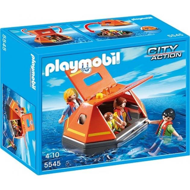 Playmobil Береговая охрана Спасательный плот 5545pm