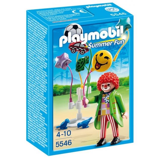 Playmobil Парк Развлечений Продавец шаров Smileyworld 5546pm