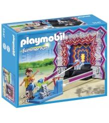 Playmobil Парк Развлечений Аттракцион Сбей банки 5547pm...