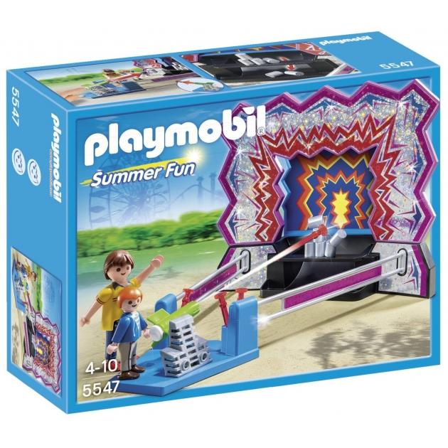 Playmobil Парк Развлечений Аттракцион Сбей банки 5547pm