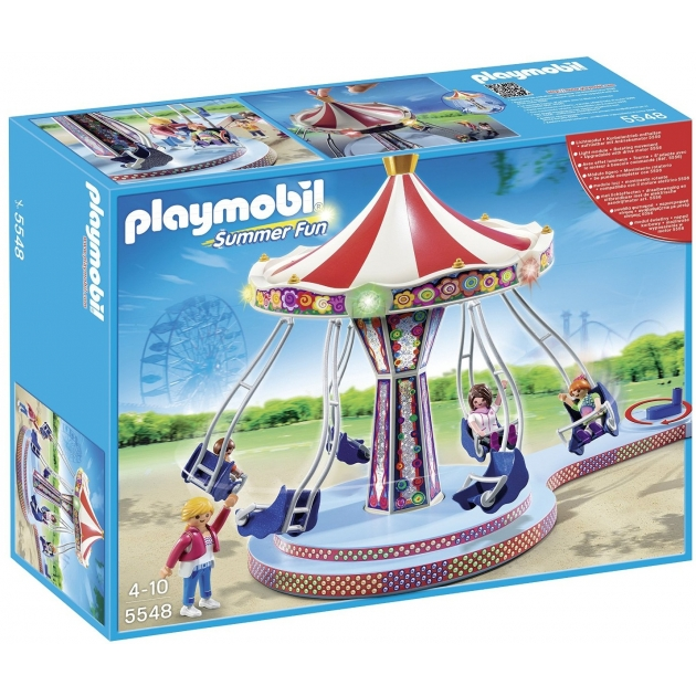Playmobil Парк Развлечений Аттракцион Карусель 5548pm