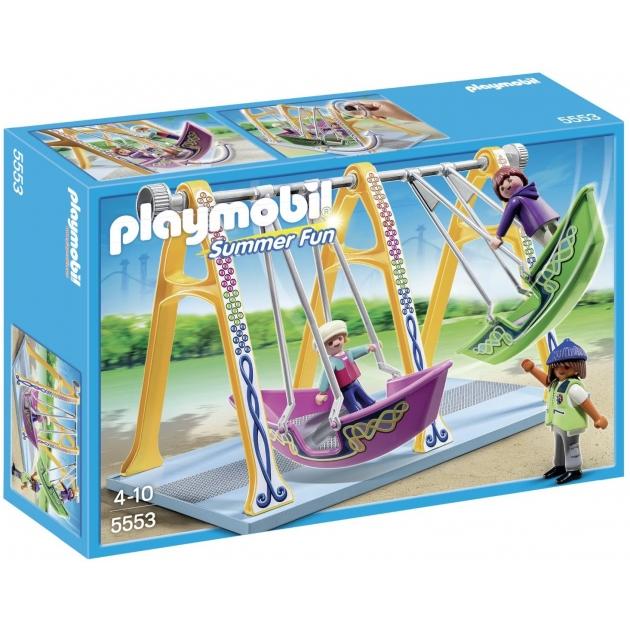 Playmobil Парк Развлечений Аттракцион Лодка 5553pm