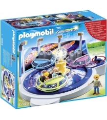 Playmobil Парк Развлечений Аттракцион Звездолет с огнями 5554pm...
