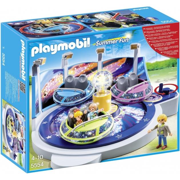 Playmobil Парк Развлечений Аттракцион Звездолет с огнями 5554pm