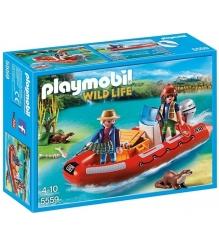 Playmobil В Поисках Приключений: Лодка с браконьерами 5559pm...