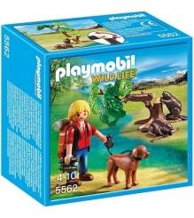 Playmobil В Поисках Приключений: Бобры и юный натуралист 5562pm...