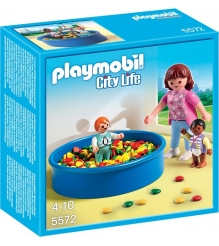 Playmobil Детский сад Игровая площадка с шариками 5572pm...
