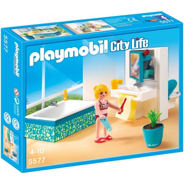 Playmobil Особняки Современная ванная комната 5577pm