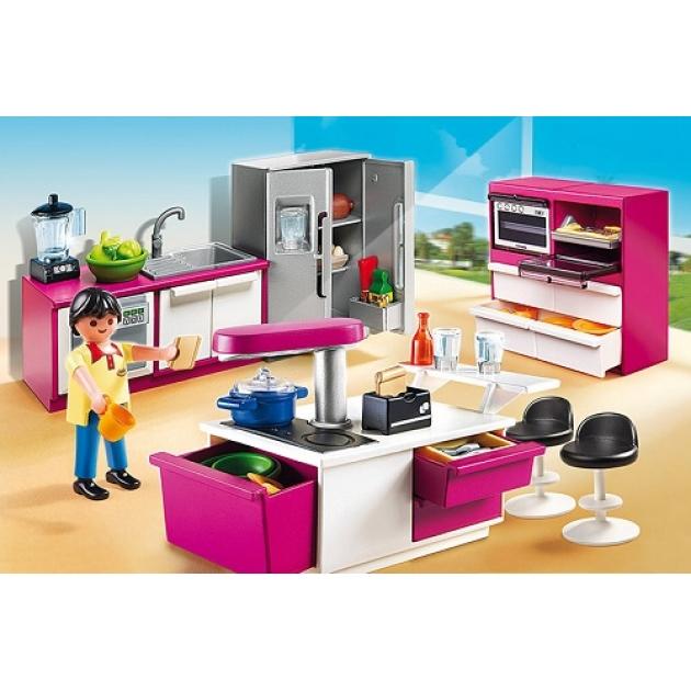 Playmobil Особняки Современная дизайнерская кухня 5582pm