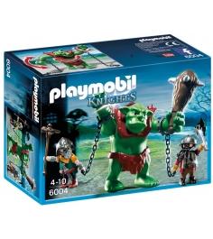Playmobil Рыцари Гигантский тролль и боевые гномы ...