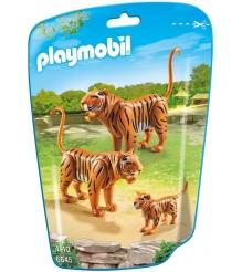 Игровой набор Playmobil Зоопарк Семья Тигров 6645pm