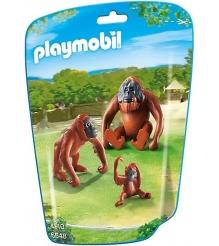 Игровой набор Playmobil Зоопарк Семья Орангутангов 6648pm