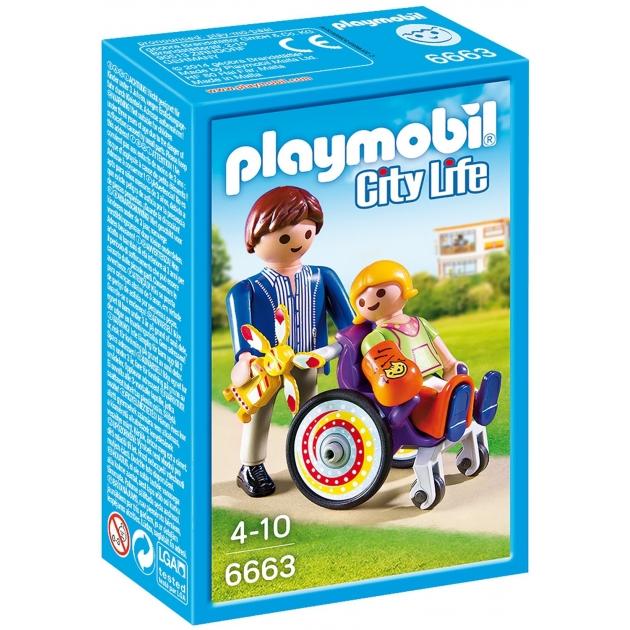Детская клиника Playmobil Ребенок в коляске 6663pm