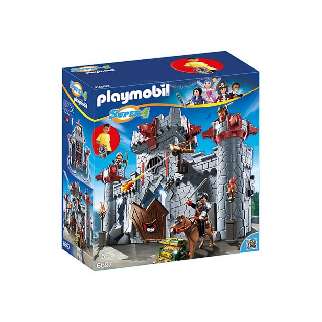 Playmobil серия Super4 Черный замок Барона 6697pm