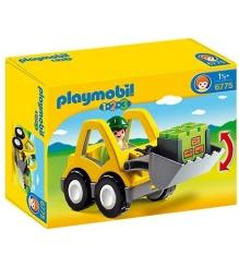Playmobil 1.2.3.: Экскаватор 6775pm