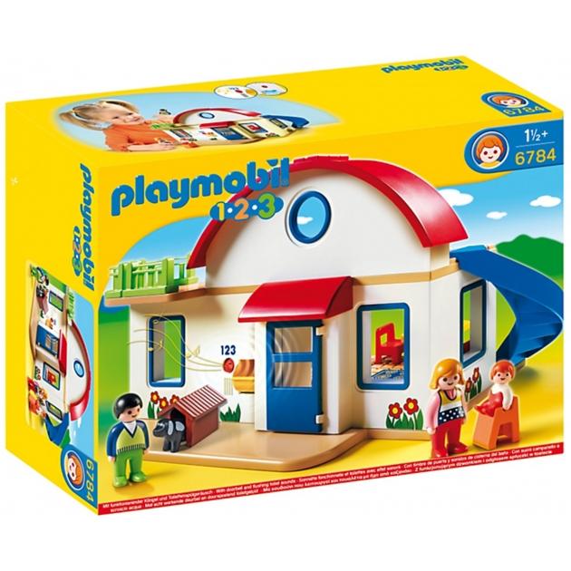 Playmobil 1 2 3 Пригородный дом 6784pm