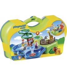 Playmobil 1 2 3 Зоопарк и Аквариум возьми с собой 6792pm