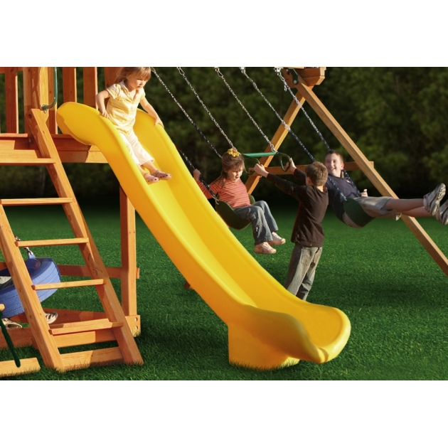 Горка пластиковая Super Scoop Slide Yellow 3м