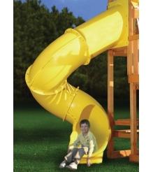 Горка пластиковая Super Tube Slide Yellow