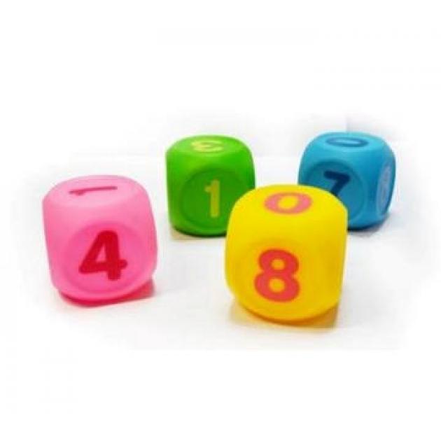 Набор Кубиков Учим цифры Пома 4шт