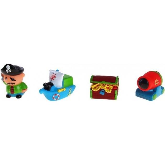 Набор игрушек Остров сокровищ Пома 4шт
