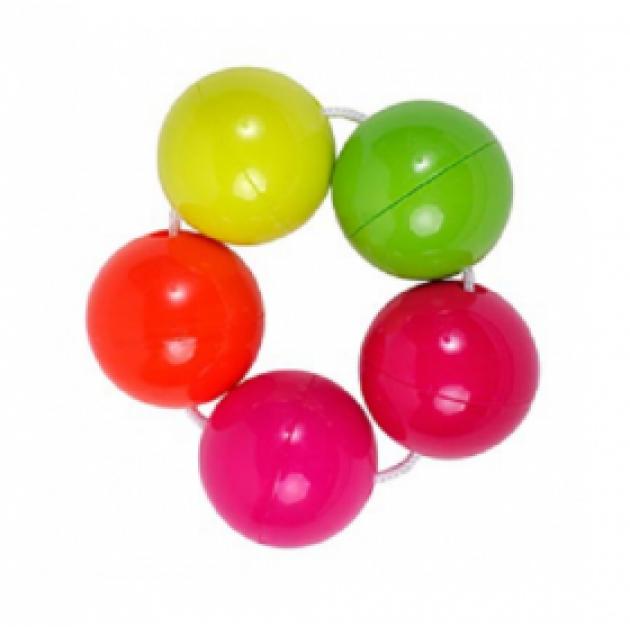 Погремушка Цветные шарики Пома
