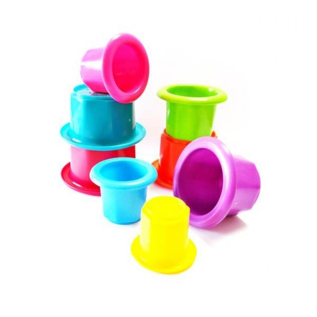 Стаканчики Цветная Башенка Пома