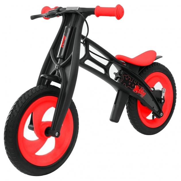 Велобалансир беговел Hobby bike RT FLY В черная оса Plastic шины волна