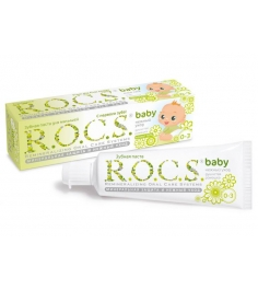 Зубная паста R.O.C.S. Baby Душистая ромашка 45 г...