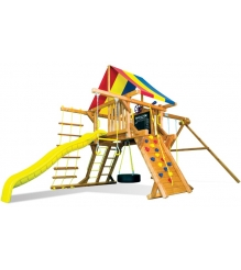 Детский городок Rainbow Play Systems carnival castle package ii ryb...