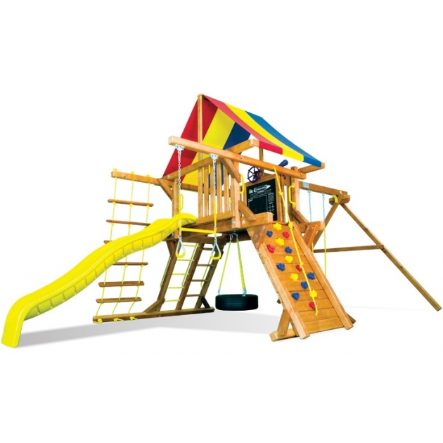 Детский городок Rainbow Play Systems carnival castle package ii ryb