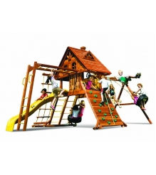 Детский городок Rainbow Play Systems carnaval castle wood roof